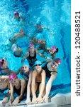 happy children kids group  at... | Shutterstock . vector #120488521