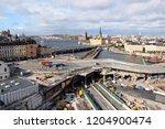 stockholm  sweden   2018 09 30  ... | Shutterstock . vector #1204900474