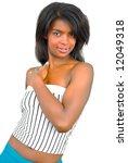 young attractive african girl | Shutterstock . vector #12049318