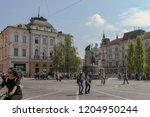 ljubljana  slovenia   september ... | Shutterstock . vector #1204950244