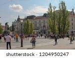ljubljana  slovenia   september ... | Shutterstock . vector #1204950247