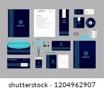 corporate identity set template ... | Shutterstock .eps vector #1204962907
