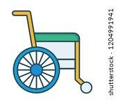 wheelchair   disability  ...   Shutterstock .eps vector #1204991941