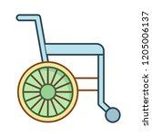 wheelchair   disability  ...   Shutterstock .eps vector #1205006137