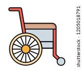 wheelchair   disability  ...   Shutterstock .eps vector #1205018791