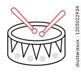 drum  instrument   music   | Shutterstock .eps vector #1205022934