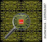 alleged chinese motherboard spy ... | Shutterstock . vector #1205026387