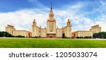 moscow state university  russia | Shutterstock . vector #1205033074