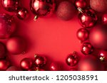 Red Christmas Baubles...