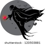 on this illustration in love... | Shutterstock .eps vector #120503881