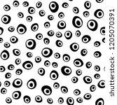 dark black vector seamless... | Shutterstock .eps vector #1205070391