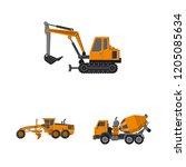 vector illustration of build...   Shutterstock .eps vector #1205085634