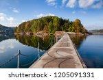 walkway between the kattoya... | Shutterstock . vector #1205091331