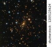 Early Universe. Hubble Image....
