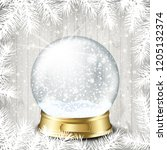 christmas background with white ...   Shutterstock .eps vector #1205132374