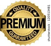 premium quality guaranteed... | Shutterstock .eps vector #120513481