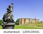 monument katharina ii.  east... | Shutterstock . vector #1205135431