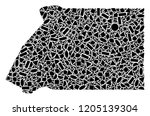 mosaic map of equatorial guinea ...   Shutterstock .eps vector #1205139304