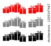 gift vector icons