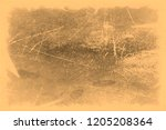 old photo texture with stains... | Shutterstock . vector #1205208364