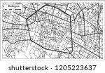 bologna italy city map in retro ...   Shutterstock .eps vector #1205223637