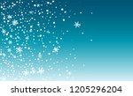 background for new year... | Shutterstock .eps vector #1205296204