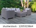 Large Terrace Patio With Ratta...