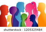 students. young people.... | Shutterstock .eps vector #1205325484