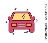 car icon design vector   Shutterstock .eps vector #1205344711