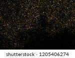 gold glitter texture isolated... | Shutterstock . vector #1205406274