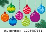 flat design bright color... | Shutterstock .eps vector #1205407951