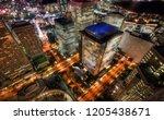 tokyo townhall  japan taken in... | Shutterstock . vector #1205438671