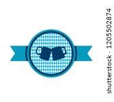 oktoberfest simple ribbon with...   Shutterstock .eps vector #1205502874