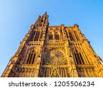 cathedrale notre dame or...   Shutterstock . vector #1205506234