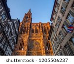 cathedrale notre dame or...   Shutterstock . vector #1205506237