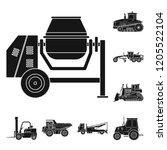 vector design of build and...   Shutterstock .eps vector #1205522104