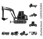 vector design of build and...   Shutterstock .eps vector #1205523304
