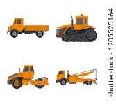 vector illustration of build...   Shutterstock .eps vector #1205525164