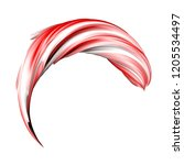 color substance. oil paint... | Shutterstock . vector #1205534497