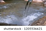 close up  glassy river water... | Shutterstock . vector #1205536621