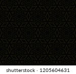 vector geometric seamless... | Shutterstock .eps vector #1205604631