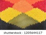 intertwining multicolor... | Shutterstock . vector #1205644117