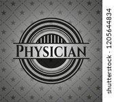 physician dark emblem | Shutterstock .eps vector #1205644834