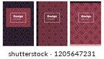 dark pink  red vector brochure...