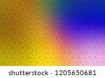 dark pink  yellow vector...   Shutterstock .eps vector #1205650681
