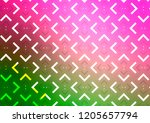 light pink  green vector...   Shutterstock .eps vector #1205657794