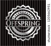 offspring silver emblem | Shutterstock .eps vector #1205662951