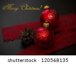 christmas decoration | Shutterstock . vector #120568135