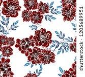 abstract elegance seamless... | Shutterstock .eps vector #1205689951