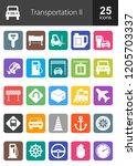 transportation filled round...   Shutterstock .eps vector #1205703337
